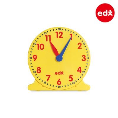 [EDX] 12시간학습 모형시계 대형 (25822)