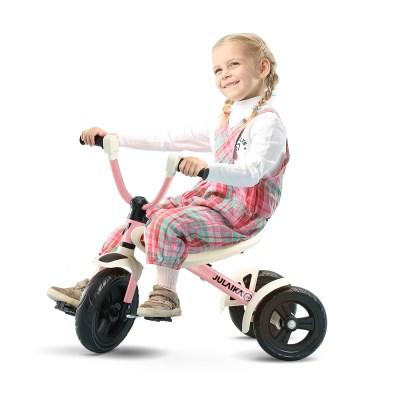줄라이카 접이식 세발자전거 J9 폴딩 트라이크 핑크 유아 자전거