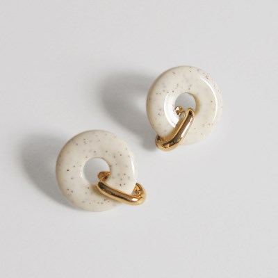 3way donut earrings