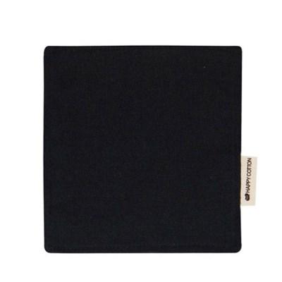 [해피코튼] 티코스터 코스터 컵받침/ 블랙