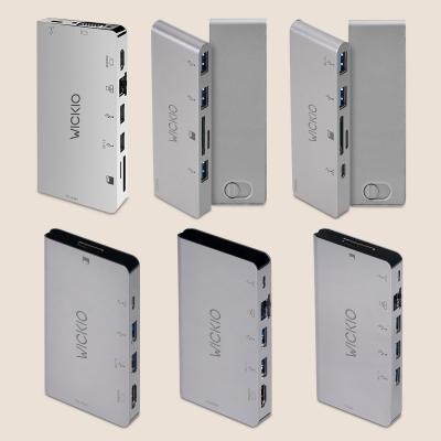 위키오 USB허브 C타입 허브젠더 6종 시리즈 (수납/슬라이드)