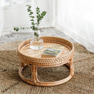 라탄 미니 테이블