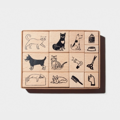 TTLB x NAHO Craftsman Stamp (pet groomer)