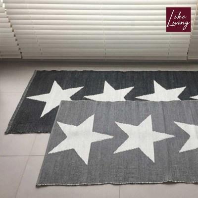 라이크리빙 인도산 STAR PVC 쇼파 주방 매트_(1437763)