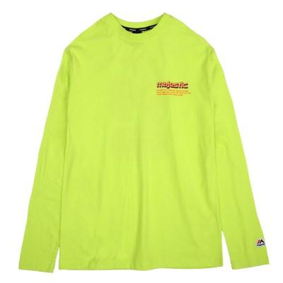 ML191UCATS012 UNI BCG 긴팔 티셔츠 (네온그린)