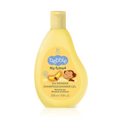 [자연주의베블] 베블 샴푸&샤워젤(바나나)소유아 올인원 바스앤샴푸