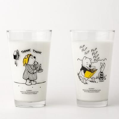 [디즈니] 위니더푸 유리컵 1+1