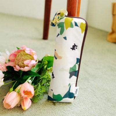 wpc우산 리프플라워 미니 3단 우양산 4135-119