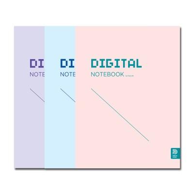 DIGITAL NOTEBOOK 스위스 바인딩(Sky/Pink/Purple)