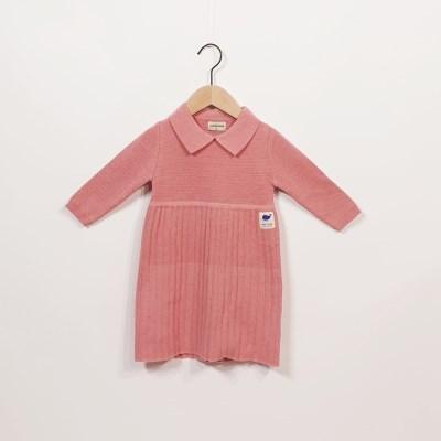 핑크니트원피스