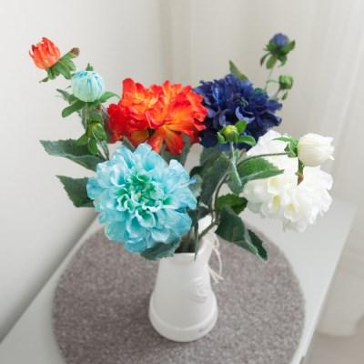 코스다알리아가지o 40cm FAIAFT 조화 꽃 인테리어소품_(1446035)