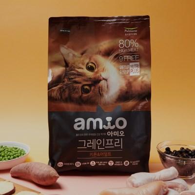 아미오 그레인프리 고양이사료 키튼 어덜트 5.4kg_(787831)