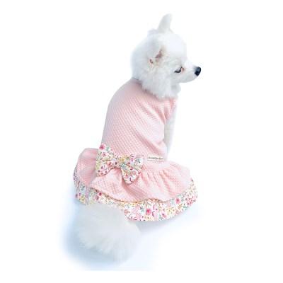 봄꽃 핑크 원피스