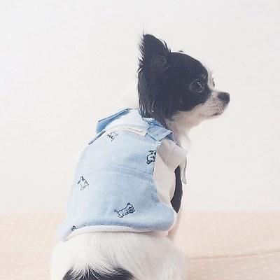 메이드 멜빵 티셔츠