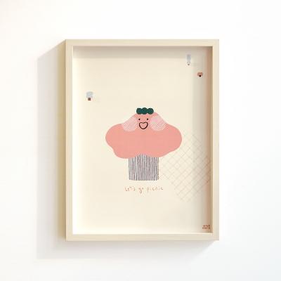 모리너 포스터 Pink tree