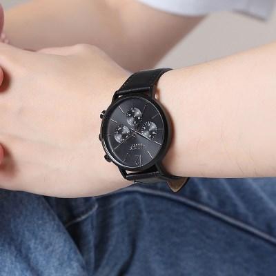 [쥴리어스 옴므] JAH-101 남성시계 /손목시계 가죽밴드