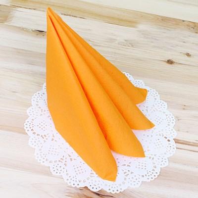 파티용 칼라 냅킨-오렌지(20매입)