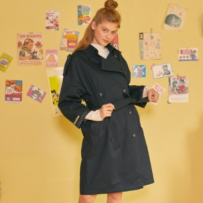 LZ TRENCH COAT(NAVY)_(4063340)