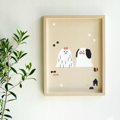 모리너 포스터 Lucy&Rookey