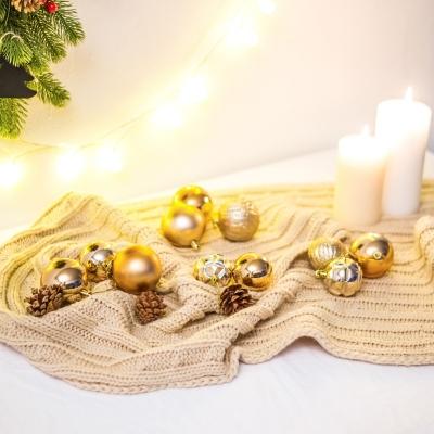 크리스마스 트리 장식 오너먼트 세트 로즈 골드_(2158651)