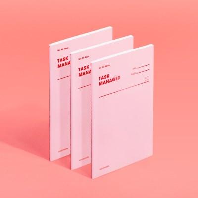 [모트모트] 태스크 매니저 31DAYS 컬러칩 - 로즈쿼츠 3EA