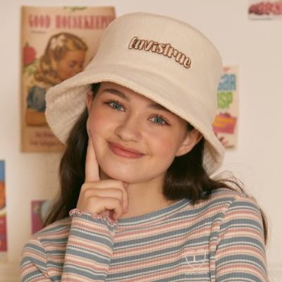 LZ BUCKET HAT(BEIGE)_(4063370)