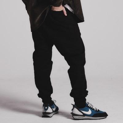 Dart jogger pants_BLACK
