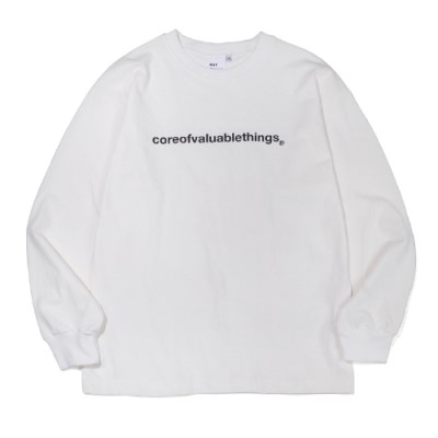 CORE LONG SLEEVE-OFF WHITE