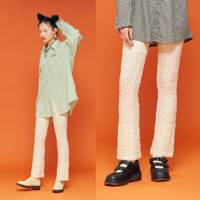 NEONMOON Lace Pants IVORY