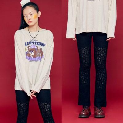 NEONMOON Lace Pants BLACK