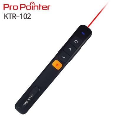 프로포인터 KTR102BLACK 레이저포인터,,PPT무선프리젠터