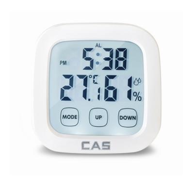 카스 디지털 온습도계 T024 온도계 습도계 알람시계 탁상시계