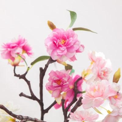 아네스벚꽃가지 (3색상) FAIAFT 조화 꽃 인테리어소품_(1461207)