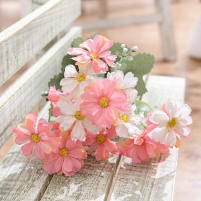 뷰티코스모스부쉬 34cm  FAIAFT 조화 꽃 인테리어소품_(1461195)
