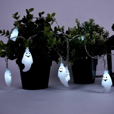 어반 LED 할로윈 장식 소품 조명 유령 가랜드 무드등 10_(1388493)