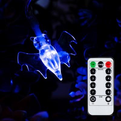 어반 LED 할로윈 장식 박쥐 30P 방수형