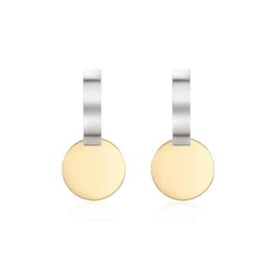 Circle Bar Earring