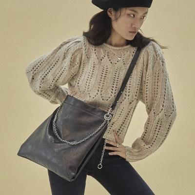 Winona 2way shoulder bag_pearl black