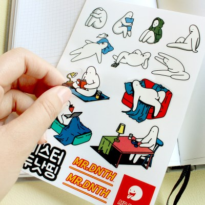 Mr.donothing Sticker ver.3/4