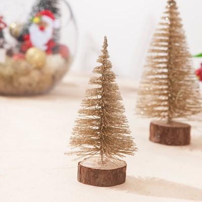 미니샴페인 솔트리 10cm 트리 미니 크리스마스 TRHMES_(1462380)