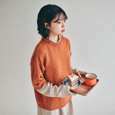 카모 울 스웨터