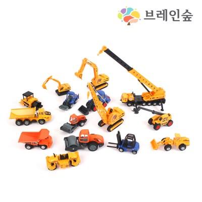 [브레인숲] 교육용교통학습세트D_건설차량15종_(2113918)