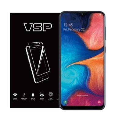 VSP 갤럭시A20 2.5D 강화유리 액정보호필름 1매 블랙