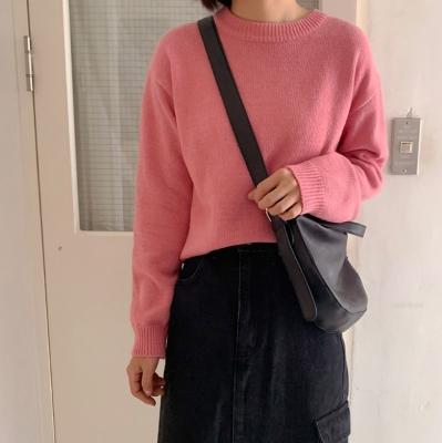 [made] Cozy basic knit (4color)