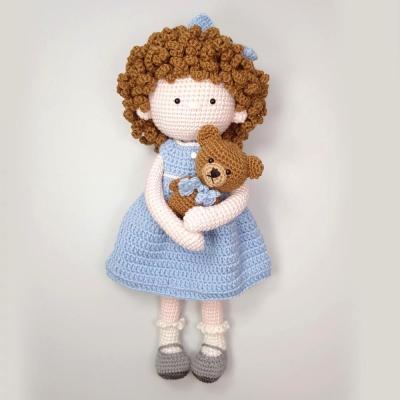 [손뜨개 DIY]손뜨개인형-소피아랑 꼬마곰