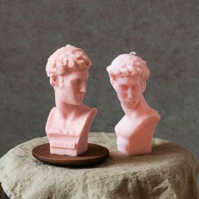 대형 섹시한 줄리앙 석고상 캔들 / 인테리어소품