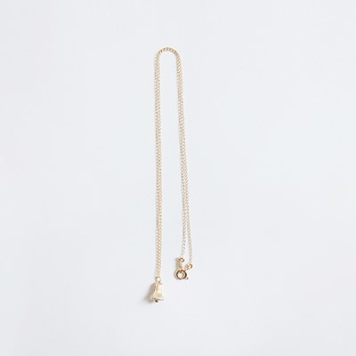 Gold Bell Necklace