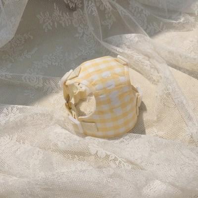 [이름 각인] Macaron harness (vanila)