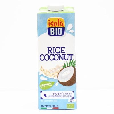[이솔라비오] 유기농 쌀 코코넛 음료 (1000ml)