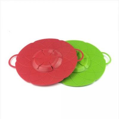 넘침방지 실리콘 냄비덮개 1개(색상랜덤)